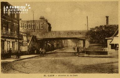 cl 02 180 Caen - Avenue de la Gare
