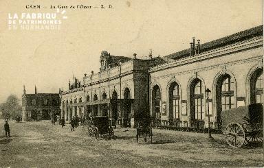 cl 02 183 Caen - La gare de l'Ouest