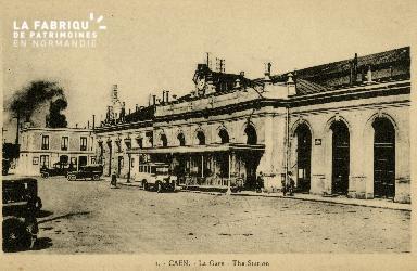 cl 02 189 Caen - La gare