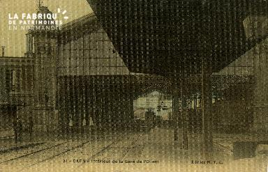 cl 02 190 Caen - Interieur de La gare de l'Ouest