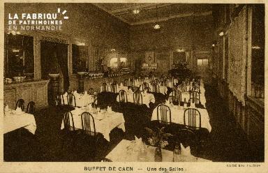 cl 02 195 Buffet de Caen -Une des salles