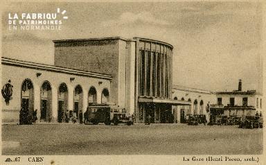 cl 02 199 Caen- La gare