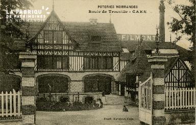 cl 02 208 Poteries Normandes, Route de trouville- Caen