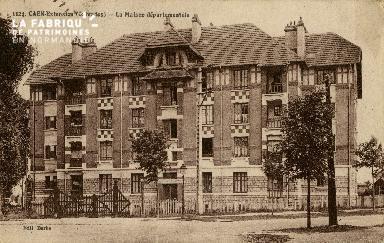 cl 02 209 Caen extention - La maison départementale