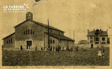 cl 02 212 Caen- La chapelle St-Thérèse de l'enfant Jésus et les patron