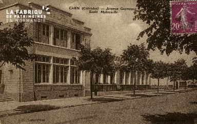 cl 02 213 Caen- Avenue Guynemer Ecole Maternelle