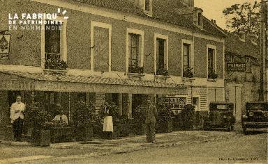 cl 02 215 Hotel Bar-Restaurant A. COEURET 4 route de Paris Caen