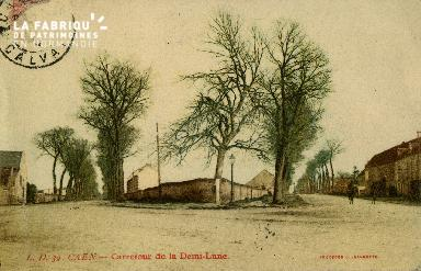 cl 02 223 Caen - Carrefour de la Demi-Lune