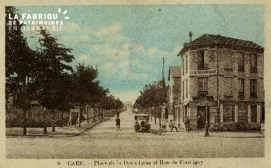 cl 02 225 Caen  place de la demi- lune et rue de Formigny