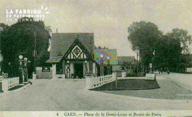 cl 02 228 Caen- place de la Demi-Lune et route de Paris