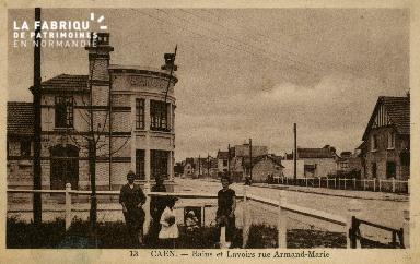 cl 02 229 Caen- Bains  et Lavoirs rue Armand-Marie