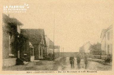 cl 02 231 Caen-Extension- Rue des messages et Café Margueret