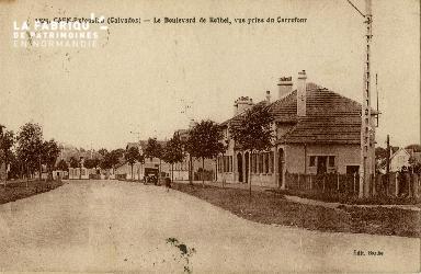 cl 02 232 Caen- Extension - Le boulevard de Rethel, Vue prise du carre