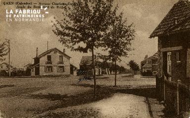 cl 02 234 Caen - Avenue Charlotte Corday- Angle du boulevard de Rethel