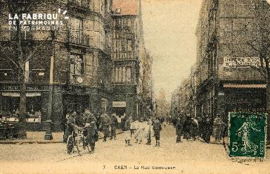 cl 03 001 Caen- la rue St-Jean