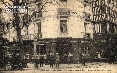 cl 03 003 Caen - la grande pharmacie du progrés- place St-pierre