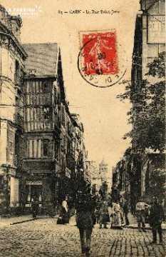 cl 03 004 Caen- la rue St-Jean