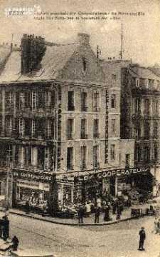 cl 03 010 Caen- Succursale des coopérateurs de Normandie- angle de la