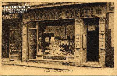 cl 03 012 Caen Librairie Marigny et joly