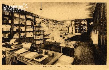 cl 03 013 Caen Librairie Marigny et joly