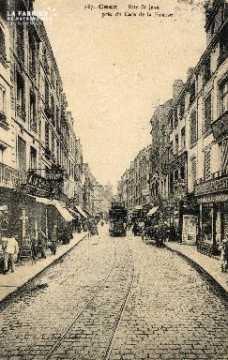 cl 03 015 Caen- rue St-Jean prés du café de la Bourse
