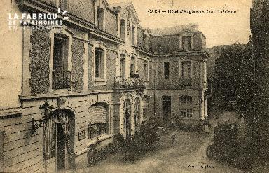 cl 03 016 Caen- Hotel d'angleterre - cour interieure
