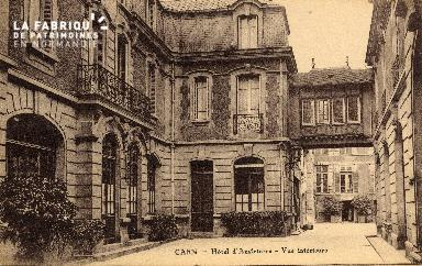 cl 03 017 Caen- Hotel d'angleterre - vue interieure