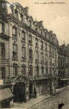 cl 03 019 Caen - Façade de l'hôtel d'angleterre