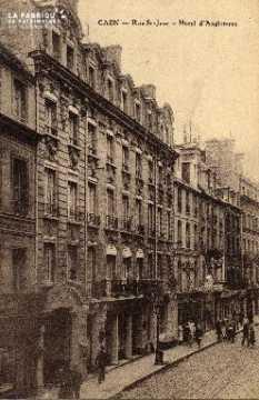 cl 03 020 Caen- rue St-Jean - Hotel d'angleterre
