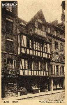 cl 03 037 Caen Vielle maison rue St-Jean