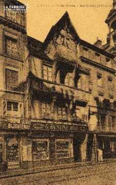 cl 03 040 Caen -vielle maison rue St-Jean