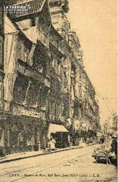 cl 03 041 Caen maison de bois - rue St-Jean