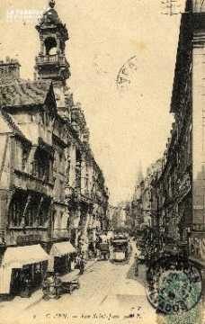 cl 03 043 Caen- rue St-Jean