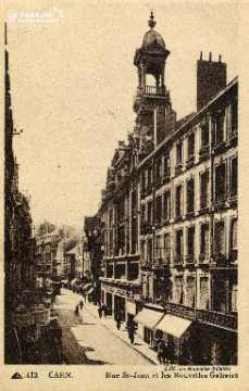 cl 03 044 Caen- rue St-Jean et les nouvelles Galeries