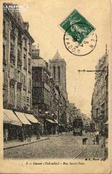 cl 03 048 Caen - La rue St-Jean