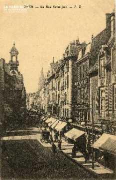 cl 03 051 Caen - La rue St-Jean