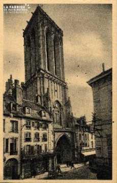 cl 03 054 Caen- la tour du portail St-Jean