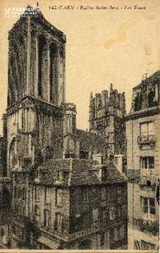 cl 03 057 Caen église St-Jean- les tours