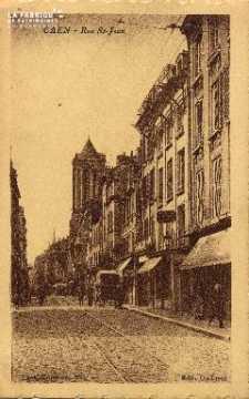 cl 03 058 Caen - La rue St-Jean