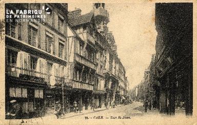 cl 03 060 Caen - La rue St-Jean