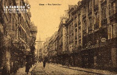 cl 03 061 Caen - La rue St-Jean