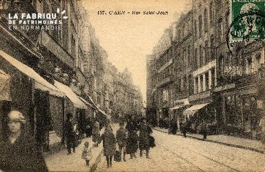 cl 03 062 Caen - La rue St-Jean