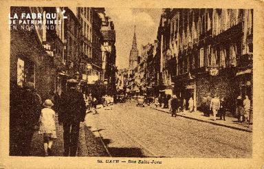 cl 03 063 Caen - La rue St-Jean