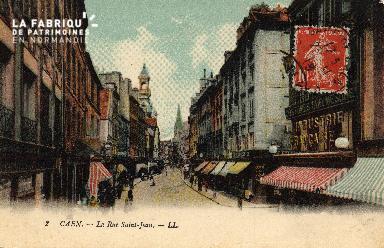 cl 03 064 Caen - La rue St-Jean