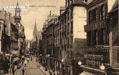 cl 03 065  Caen - La rue St-Jean