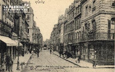 cl 03 069 Caen rue St-Jean et maison Charlotte Corday
