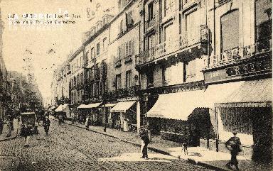 cl 03 072 Caen - La rue St-Jean prés de la rue des Carmélites