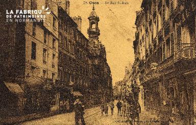 cl 03 088 Caen - La rue St-Jean