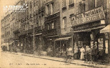 cl 03 090 Caen - La rue St-Jean