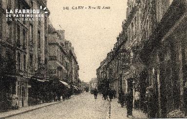 cl 03 093 Caen - La rue St-Jean